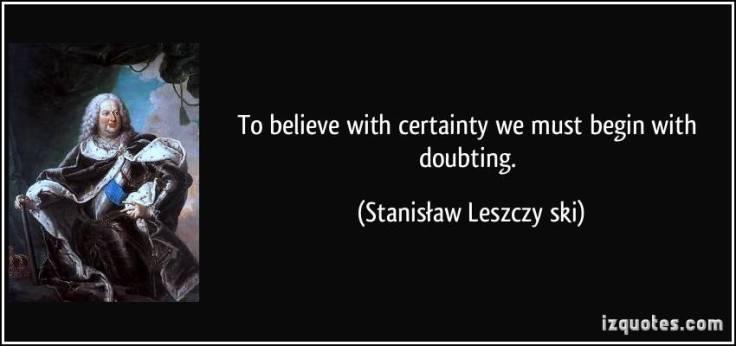 Stanislaw quote